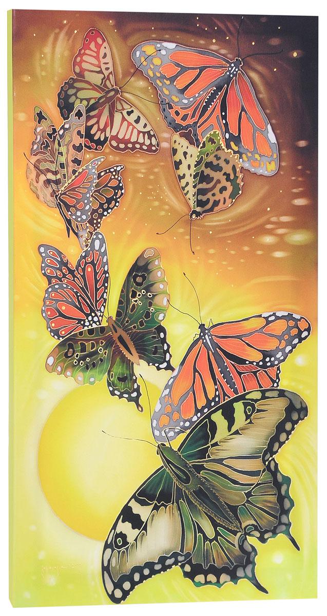 КвикДекор Картина детская БабочкиAP-00790-00006-Cn4270Картина КвикДекор Бабочки - это прекрасное украшение для вашей гостиной, детской или спальни. Она привнесет в интерьер яркий акцент и сделает обстановку комфортной и уютной. Автор картины - Надежда Соколова - родилась в 1973 году в городе Дрездене. В 1986-1990 годах училась в Художественной школе города Новгорода. В 1995 году окончила с отличием рекламное отделение Новгородского училища культуры. В 2000 году защитила диплом на факультете Искусств и Технологий НовГУ имени Ярослава Мудрого. Выставляется с 1996 года. Работает в техниках: живопись, графика, батик, лаковая миниатюра, авторская кукла. Является автором оригинального стиля в миниатюре. Изделие представляет собой картину с латексной печатью на натуральном хлопчатобумажном холсте. Галерейная натяжка на деревянный подрамник выполнена очень аккуратно, а боковые части картины запечатаны тоновой заливкой. Обратная сторона подрамника содержит отверстие, благодаря которому картину можно легко закрепить на стене и...
