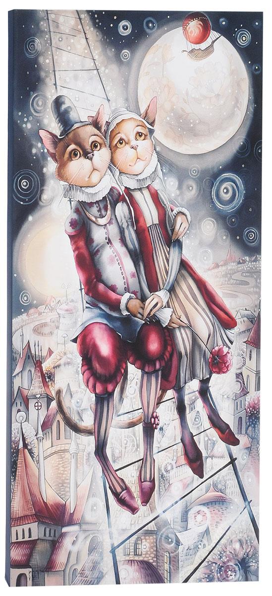 КвикДекор Картина детская Лестница ВалентинаAP-00819-00035-Cn3060Картина КвикДекор Лестница Валентина - это прекрасное украшение для вашей гостиной, детской или спальни. Она привнесет в интерьер яркий акцент и сделает обстановку комфортной и уютной. Автор картины - Надежда Соколова - родилась в 1973 году в городе Дрездене. В 1986-1990 годах училась в Художественной школе города Новгорода. В 1995 году окончила с отличием рекламное отделение Новгородского училища культуры. В 2000 году защитила диплом на факультете Искусств и Технологий НовГУ имени Ярослава Мудрого. Выставляется с 1996 года. Работает в техниках: живопись, графика, батик, лаковая миниатюра, авторская кукла. Является автором оригинального стиля в миниатюре. Изделие представляет собой картину с латексной печатью на натуральном хлопчатобумажном холсте. Галерейная натяжка на деревянный подрамник выполнена очень аккуратно, а боковые части картины запечатаны тоновой заливкой. Обратная сторона подрамника содержит отверстие, благодаря которому картину можно легко закрепить на стене и...
