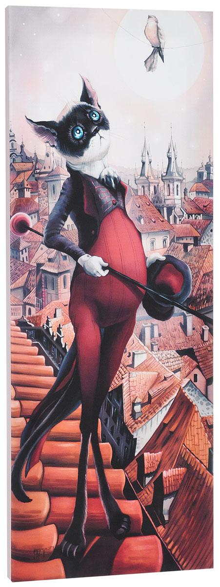 КвикДекор Картина детская В ПрагеAP-00796-00012-Cn2870Картина КвикДекор В Праге - это прекрасное украшение для вашей гостиной, детской или спальни. Она привнесет в интерьер яркий акцент и сделает обстановку комфортной и уютной. Автор картины - Надежда Соколова - родилась в 1973 году в городе Дрездене. В 1986-1990 годах училась в Художественной школе города Новгорода. В 1995 году окончила с отличием рекламное отделение Новгородского училища культуры. В 2000 году защитила диплом на факультете Искусств и Технологий НовГУ имени Ярослава Мудрого. Выставляется с 1996 года. Работает в техниках: живопись, графика, батик, лаковая миниатюра, авторская кукла. Является автором оригинального стиля в миниатюре. Изделие представляет собой картину с латексной печатью на натуральном хлопчатобумажном холсте. Галерейная натяжка на деревянный подрамник выполнена очень аккуратно, а боковые части картины запечатаны тоновой заливкой. Обратная сторона подрамника содержит отверстие, благодаря которому картину можно легко закрепить на стене и...