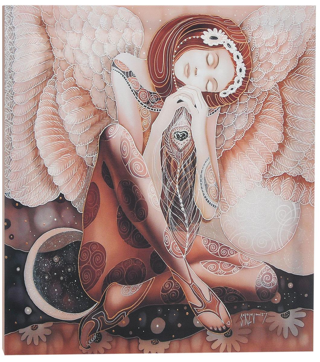 КвикДекор Картина детская День и ночьAP-00806-00022-Cn5050Картина КвикДекор День и ночь - это прекрасное украшение для вашей гостиной, детской или спальни. Она привнесет в интерьер яркий акцент и сделает обстановку комфортной и уютной. Автор картины - Надежда Соколова - родилась в 1973 году в городе Дрездене. В 1986-1990 годах училась в Художественной школе города Новгорода. В 1995 году окончила с отличием рекламное отделение Новгородского училища культуры. В 2000 году защитила диплом на факультете Искусств и Технологий НовГУ имени Ярослава Мудрого. Выставляется с 1996 года. Работает в техниках: живопись, графика, батик, лаковая миниатюра, авторская кукла. Является автором оригинального стиля в миниатюре. Изделие представляет собой картину с латексной печатью на натуральном хлопчатобумажном холсте. Галерейная натяжка на деревянный подрамник выполнена очень аккуратно, а боковые части картины запечатаны тоновой заливкой. Обратная сторона подрамника содержит отверстие, благодаря которому картину можно легко...