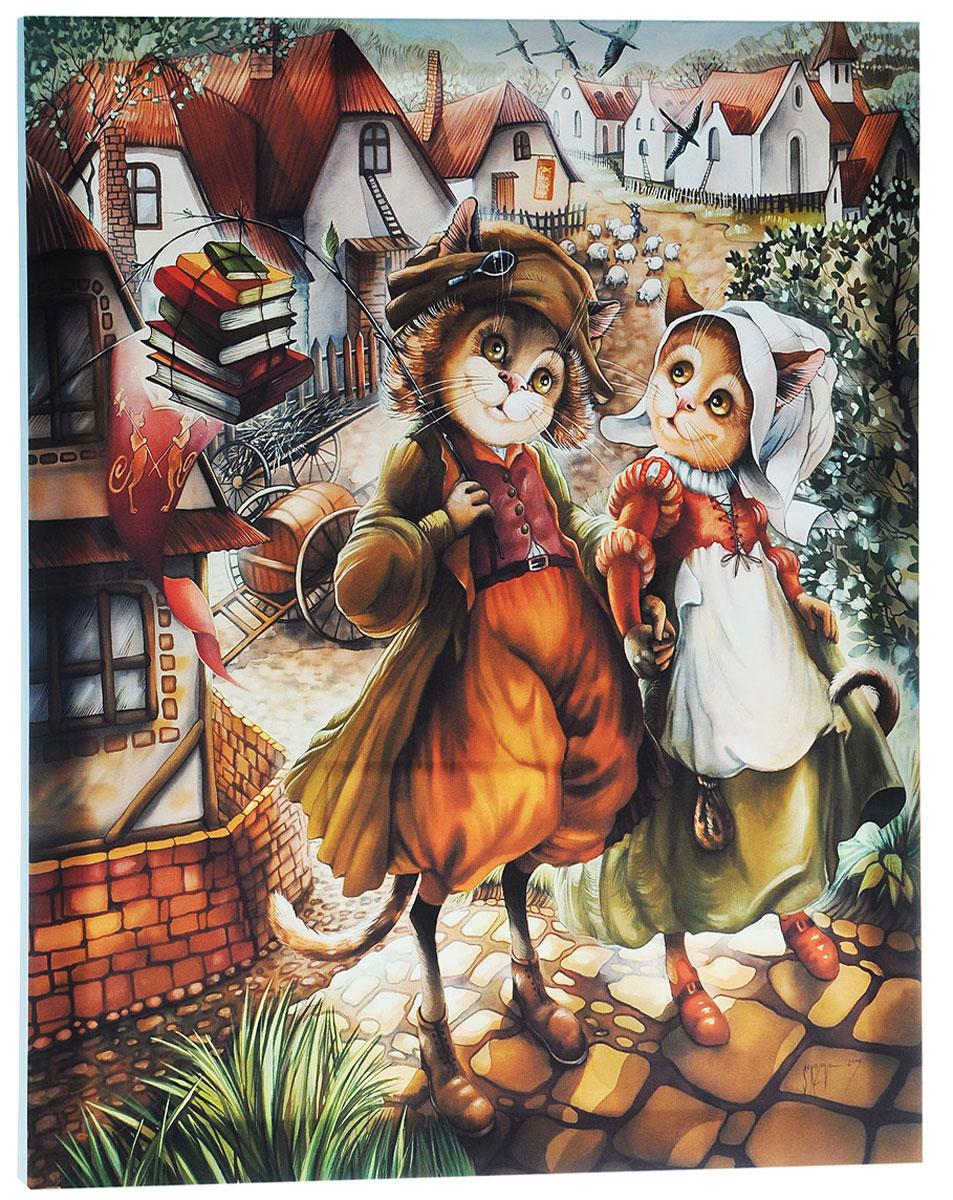 КвикДекор Картина детская Ты и ЯAP-00861-00077-Cn6070Картина КвикДекор Ты и Я - это прекрасное украшение для вашей гостиной, детской или спальни. Она привнесет в интерьер яркий акцент и сделает обстановку комфортной и уютной. Автор картины - Надежда Соколова - родилась в 1973 году в городе Дрездене. В 1986-1990 годах училась в Художественной школе города Новгорода. В 1995 году окончила с отличием рекламное отделение Новгородского училища культуры. В 2000 году защитила диплом на факультете Искусств и Технологий НовГУ имени Ярослава Мудрого. Выставляется с 1996 года. Работает в техниках: живопись, графика, батик, лаковая миниатюра, авторская кукла. Является автором оригинального стиля в миниатюре. Изделие представляет собой картину с латексной печатью на натуральном хлопчатобумажном холсте. Галерейная натяжка на деревянный подрамник выполнена очень аккуратно, а боковые части картины запечатаны тоновой заливкой. Обратная сторона подрамника содержит отверстие, благодаря которому картину можно легко закрепить на стене и...
