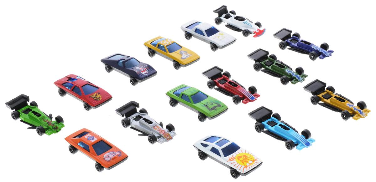 Shantou Набор машинок Motor Wheels 15 штB649751Набор машинок Shantou Motor Wheels понравится любому мальчику. В набор входит 15 спортивных и гоночных автомобилей. Каждая машинка имеет индивидуальную форму и раскраску. Машинки изготовлены из качественных и безопасных материалов. Имея такой автопарк, можно устраивать соревнования и гонки с друзьями. Благодаря разнообразию моделей и цветов скучать будет некогда.