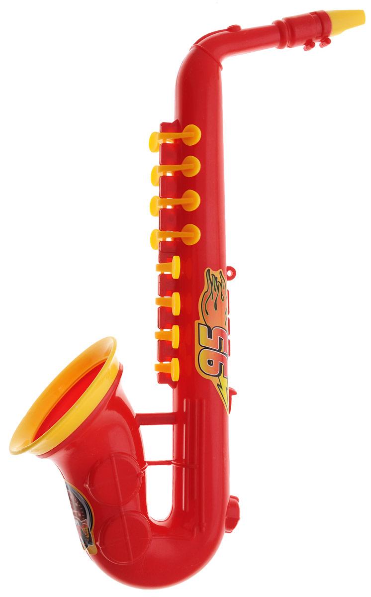 Играем вместе Саксофон ТачкиB226350-R3Яркая музыкальная игрушка Играем вместе Тачки выполнена из безопасного пластика в виде саксофона, украшенного изображением героя мультфильма Тачки. На его корпусе расположены клавиши желтого цвета и желтый мундштук. Саксофон Играем вместе Тачки способствует развитию у ребенка музыкальных способностей, а также цветового и звукового восприятия, мелкой моторики рук и воображения.