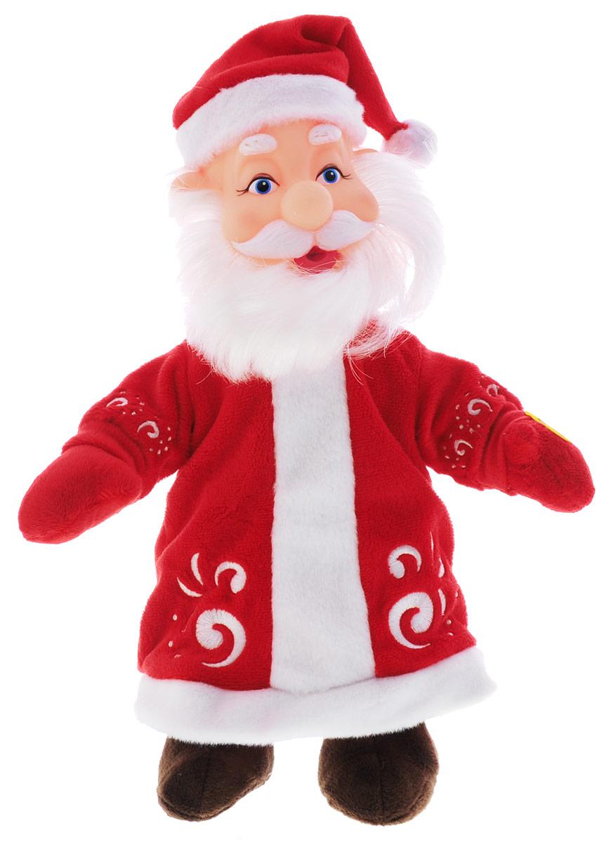 Мульти-Пульти Мягкая игрушка Дед Мороз 30 смV27441/30AМягкая игрушка Мульти-Пульти Дед Мороз очарует не только детей, но и взрослых. Добрый Дедушка Мороз из мультфильма Маша и Медведь умеет произносить 6 фраз и поет песенку. Для включения игрушки достаточно нажать Деду Морозу на живот. Мягкая игрушка сама по себе ассоциируется с радостью и весельем, конечно, и для детей такой подарок станет поистине незабываемым. Забавные, добрые мягкие игрушки радуют детей с самого рождения. Ведь уже в первые месяцы жизни ребенок проявляет интерес к плюшевым зверятам и необычным персонажам. Сначала они помогают ему познавать окружающий мир через тактильные ощущения, знакомят его с животным миром нашей планеты, формируют цветовосприятие и способствуют концентрации внимания. Для работы игрушки необходимы 3 батарейки типа LR44 (товар комплектуется демонстрационными).