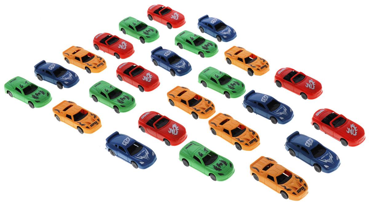 Lion Набор машинок Classic Racing 24 штB1284465Набор машинок Lion Classic Racing понравится любому мальчику. В набор входит 24 спортивные и гоночные машинки. Каждая машинка имеет индивидуальную форму и раскраску. Машинки изготовлены из качественных и безопасных материалов. Имея такой автопарк, можно устраивать соревнования и гонки с друзьями. Благодаря разнообразию моделей и цветов скучать будет некогда.