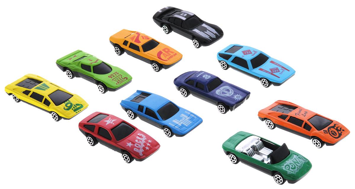Shantou Набор машинок Turbo Racer 10 шт