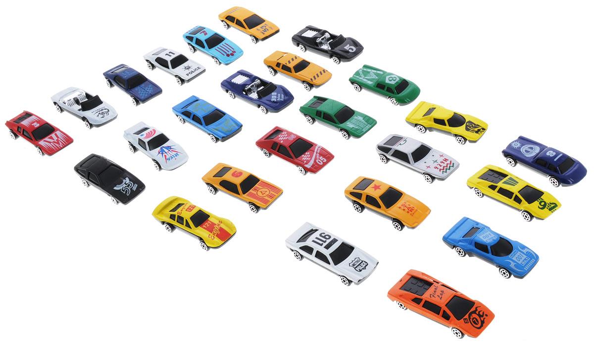 Shantou Набор машинок City Racer 25 штG100-H36019Набор машинок Shantou City Racer понравится любому мальчику. В набор входит 25 спортивных и гоночных автомобилей. Каждая машинка имеет индивидуальную форму и раскраску. Машинки изготовлены из качественных и безопасных материалов. Имея такой автопарк, можно устраивать соревнования и гонки с друзьями. Благодаря разнообразию моделей и цветов скучать будет некогда.