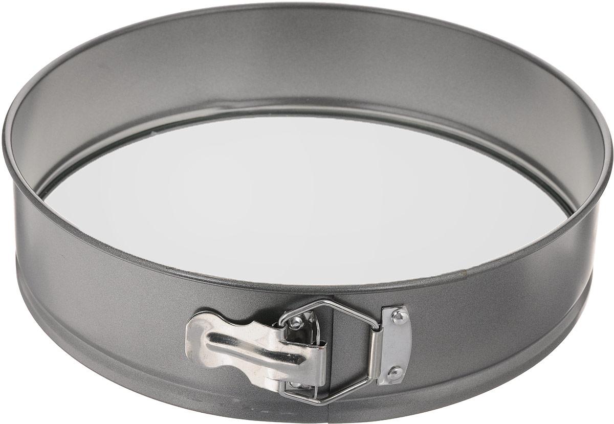 Форма для выпечки Mayer & Boch Unico, разъемная, с антипригарным покрытием, со стеклянным дном, диаметр 28 см3136Форма Mayer & Boch Unico изготовлена из высококачественной углеродистой стали с антипригарным покрытием. Форма имеет разъемный механизм и съемное дно из закаленного жаропрочного стекла, поэтому вынимать из нее готовую выпечку очень легко. Антипригарное покрытие формы, как и стеклянное дно, не вступает в реакцию с продуктами питания. Выпечка в данной форме не пригорает и не прилипает к стенкам. Форма Mayer & Boch Unico идеально подходит для выпечки кондитерских изделий. Подходит для использования в духовках. Не подходит для использования в микроволновой печи. Диаметр формы: 28 см. Высота: 7 см.