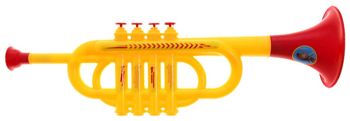 Играем вместе Труба Маша и Медведь цвет желтый