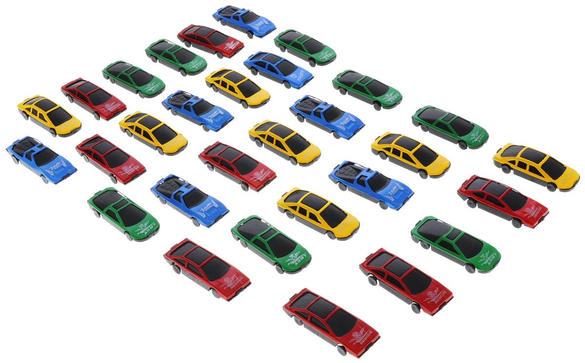 Little Ant Набор машинок Auto World 30 штB1213985Набор машинок Little Ant Auto World понравится любому мальчику. В набор входит 30 спортивных и гоночных автомобилей в масштабе 1:64. Каждая машинка имеет индивидуальную форму и раскраску. Машинки изготовлены из качественных и безопасных материалов. Имея такой автопарк, можно устраивать соревнования и гонки с друзьями. Благодаря разнообразию моделей и цветов скучать будет некогда.