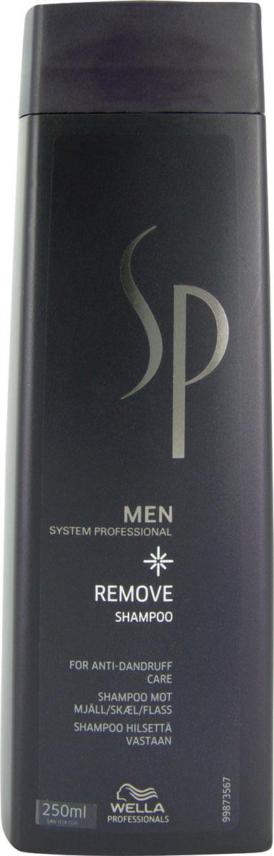 Wella SP Шампунь против перхоти Men Removing Shampoo, 250 мл81311345Эффективное средство от всех видов перхоти -Шампунь против перхоти Removing Shampoo от Wella. Регулярное использование шампуня в течение 4 недель обуславливает прекращение появления перхоти в течение 2 месяцев. Специальные активные моющие компоненты мягко воздействуют на структуру волос, качественно очищая их, не повреждая при этом, удаляют с кожи головы ороговевшие частицы, увлажшяющие компоненты предотвращают образование перхоти, нейтрализуют сухость и стянутость.