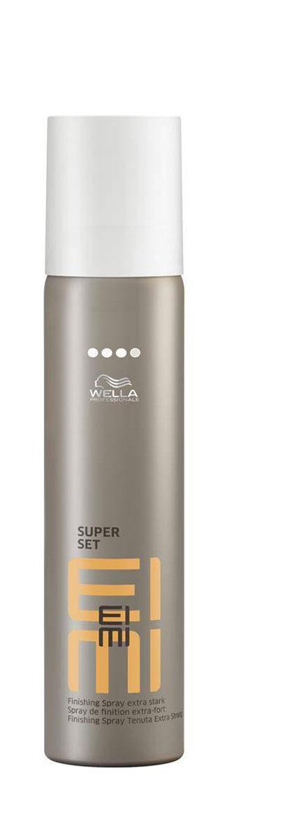 Wella Лак для волос ультрасильной фиксации Finish Super Set, 300 мл00125448/3863Лак для волос со степенью фиксации 4 обеспечивает ультра сильную фиксацию.