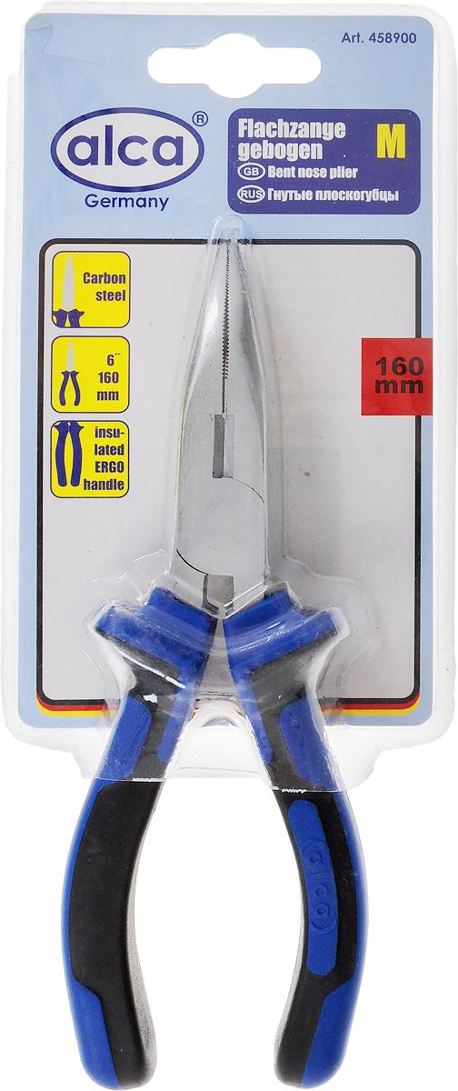 Плоскогубцы Alca, гнутые, 16 см458900Плоскогубцы Alca изготовлены из высококачественной карбоновой стали. Эргономичные ручки с прорезиненным покрытием. Они предназначены для захвата, зажима и удержания мелких деталей. Длина: 16 см. Размер рабочей части: 7 х 1,7 см. Твердость стали: HRC 42~48. Твердость режущих кромок: HRC 55~65.