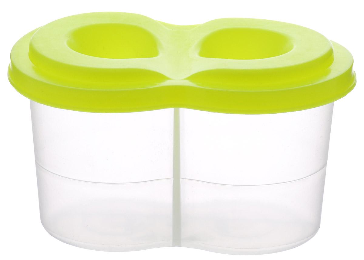 Луч Стакан-непроливайка двойной цвет салатовый ( 13С 964-08_салат )