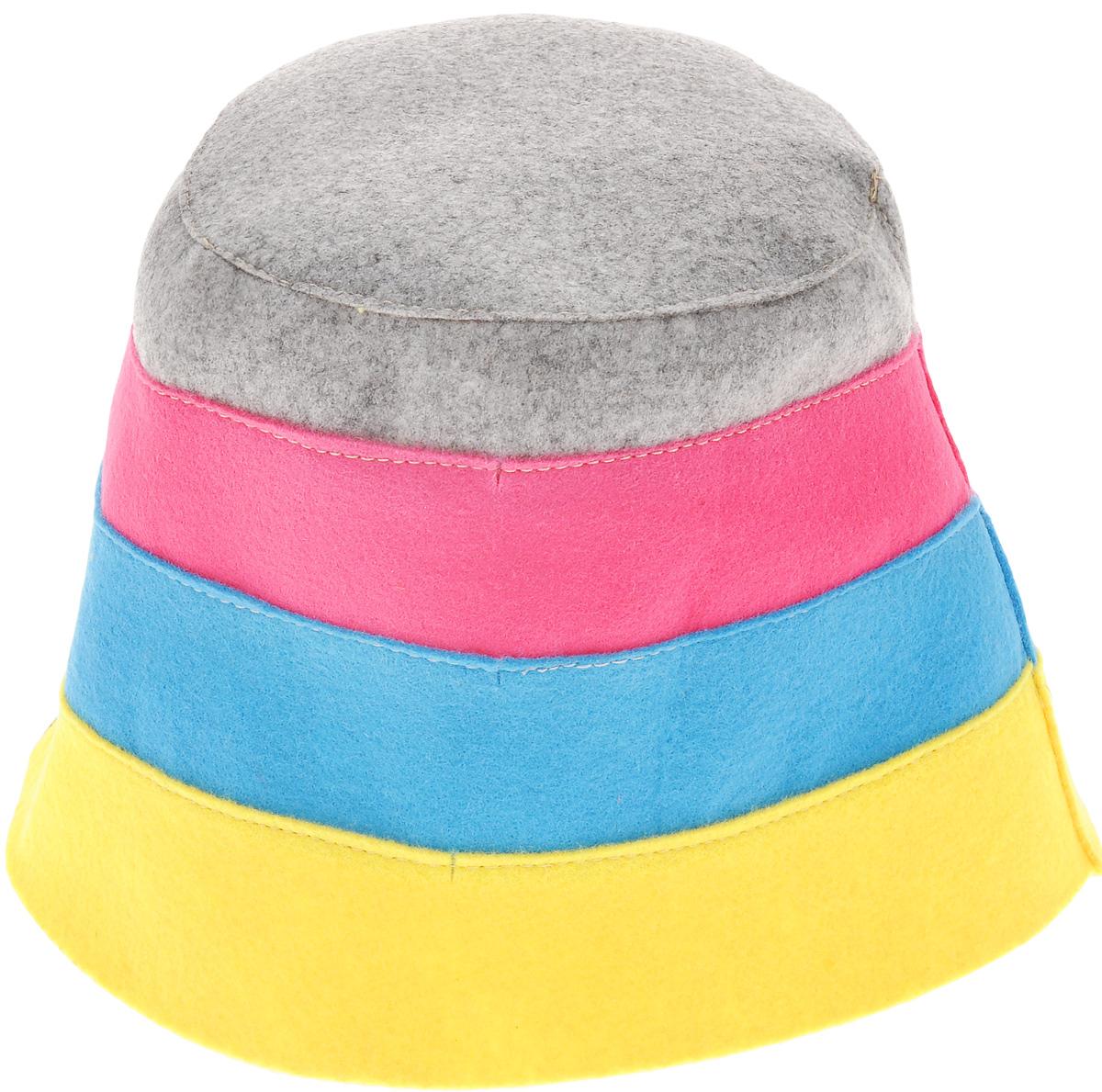 Шапка для бани и сауны Доктор баня В полоску, цвет: желтый, голубой, розовый905254_желтый, голубой, розовыйШапка для бани и сауны Доктор баня В полоску, выполненная из 100% полиэстера, является оригинальным и незаменимым аксессуаром для любителей попариться в русской бане и для тех, кто предпочитает сухой жар финской бани. Необычный дизайн изделия поможет сделать ваш отдых более приятным и разнообразным. При правильном уходе шапка прослужит долгое время - достаточно просушивать ее. Обхват головы: 60 см.
