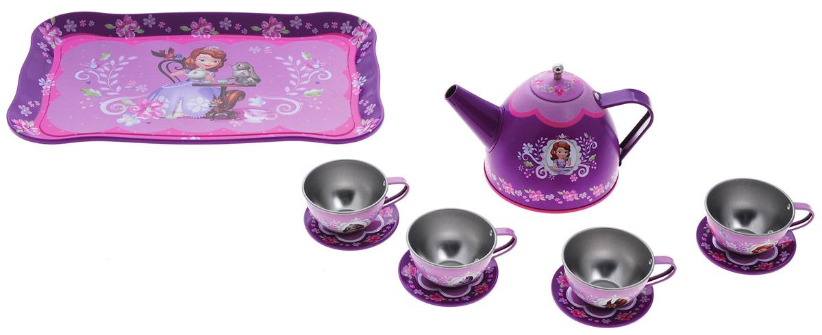 Играем вместе Набор посуды София Прекрасная 10 предметов