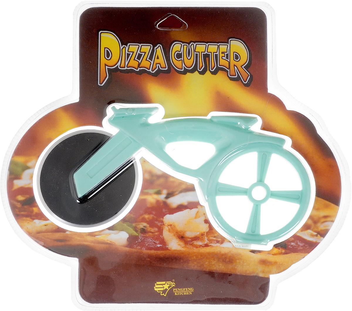 Нож для пиццы Empire of dishes Велосипед, цвет: голубойIM99-4716/1Корпус ножа для пиццы Empire of dishes Велосипед выполнен из пищевого пластика, лезвие, выполняющее функцию колеса, из высококачественной стали. Использование этого приспособления позволит равномерно и аккуратно разрезать пиццу на кусочки. Диаметр лезвия: 6,5 см. Общий размер ножа: 17 х 7,5 х 2 см.
