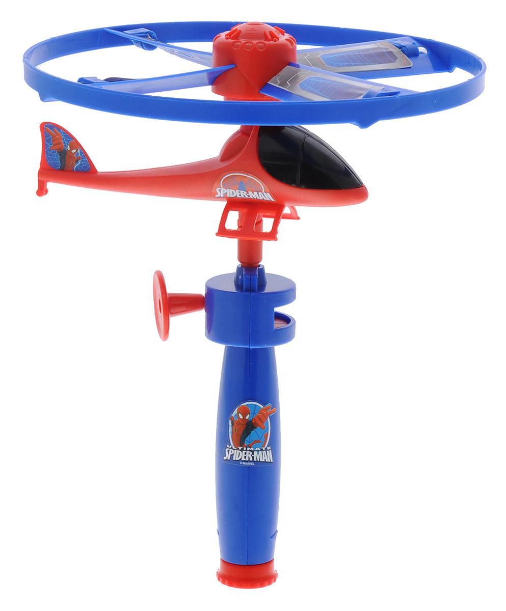 Играем вместе Вертолет Великий Человек-паук с запускающим устройством2363A-SPВертолет Играем вместе Великий Человек-паук прекрасно подойдет для активных летних игр и станет отличным подарком для каждого мальчика. Игрушка выполнена в виде вертолета, оформленного в стиле Человека-паука. Благодаря пусковому механизму он без труда поднимается в воздух и летает на радость ребенку. Пропеллер оснащен мигающими светодиодами. Вертолет прекрасно подойдет как для игр дома, так и на открытом воздухе. Игра с таким вертолетом способствует развитию тактильной чувствительности, воображения и подарит только положительные эмоции. Рекомендуется докупить 2 батарейки типа R41 (товар комплектуется демонстрационными).