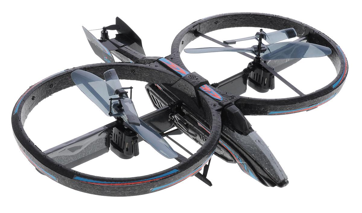 Silverlit Вертолет на радиоуправлении Space Phoenix цвет черный синий
