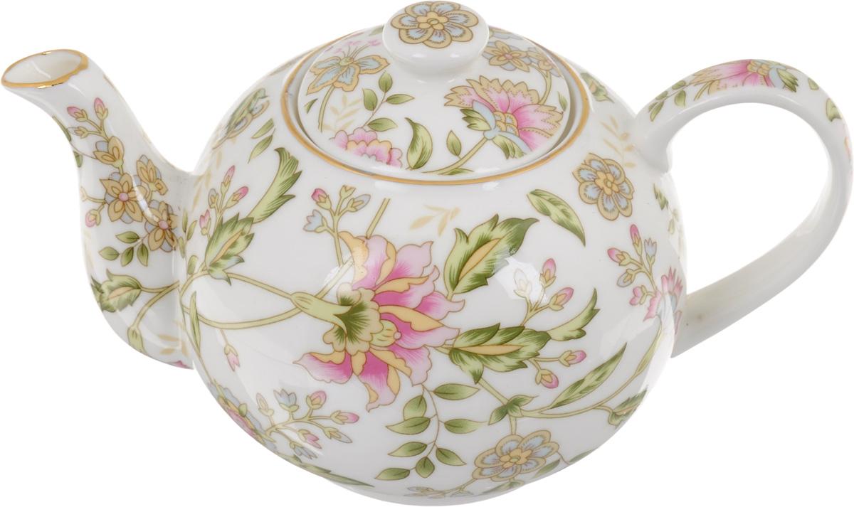 Чайник заварочный Patricia Фиалка, с фильтром, 400 млIM04-0323Заварочный чайник Patricia Фиалка изготовлен из высококачественной керамики с гладким глазурованным покрытием. Изделие декорировано цветочным рисунком и золотистой деколью. Чайник снабжен металлическим фильтром, который можно прикрепить к ручке. Любой чай в таком изысканном чайнике станет для вас наслаждением, поводом отдохнуть и перевести дыхание. Он прекрасно украсит сервировку стола к чаепитию. Благодаря красивому утонченному дизайну, качеству исполнения и большому объему он станет хорошим подарком друзьям и близким. Не рекомендуется мыть в посудомоечной машине и использовать в микроволновой печи. Диаметр (по верхнему краю): 6 см. Внутренний диаметр: 4,5 см. Высота чайника (без учета крышки): 8 см. Размер фильтра: 4,5 х 4,5 х 3,5 см.