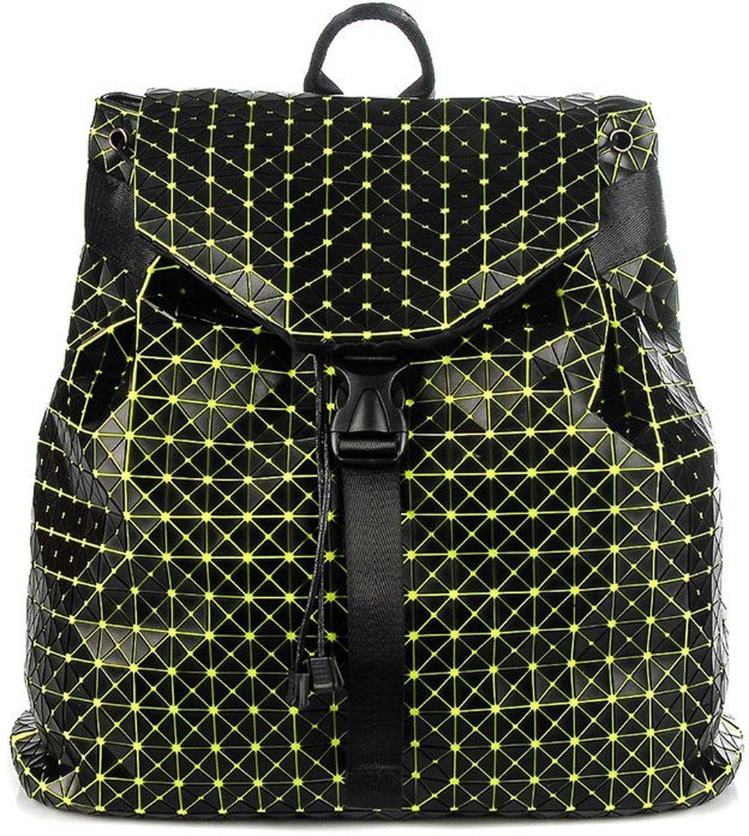 Рюкзак силиконовый Sabellino, цвет: зеленый. 0111016455_620111016455_62Легкий вместительный рюкзак, закрывается на крышку с застежкой, изделие затягивается, что позволит сделать его компактным или более вместительным. Внутри тканевый подклад, карман на молнии для документов, отделения для мелочи и мобильного телефона, уплотненное дно. Мягкие регулируемые лямки.
