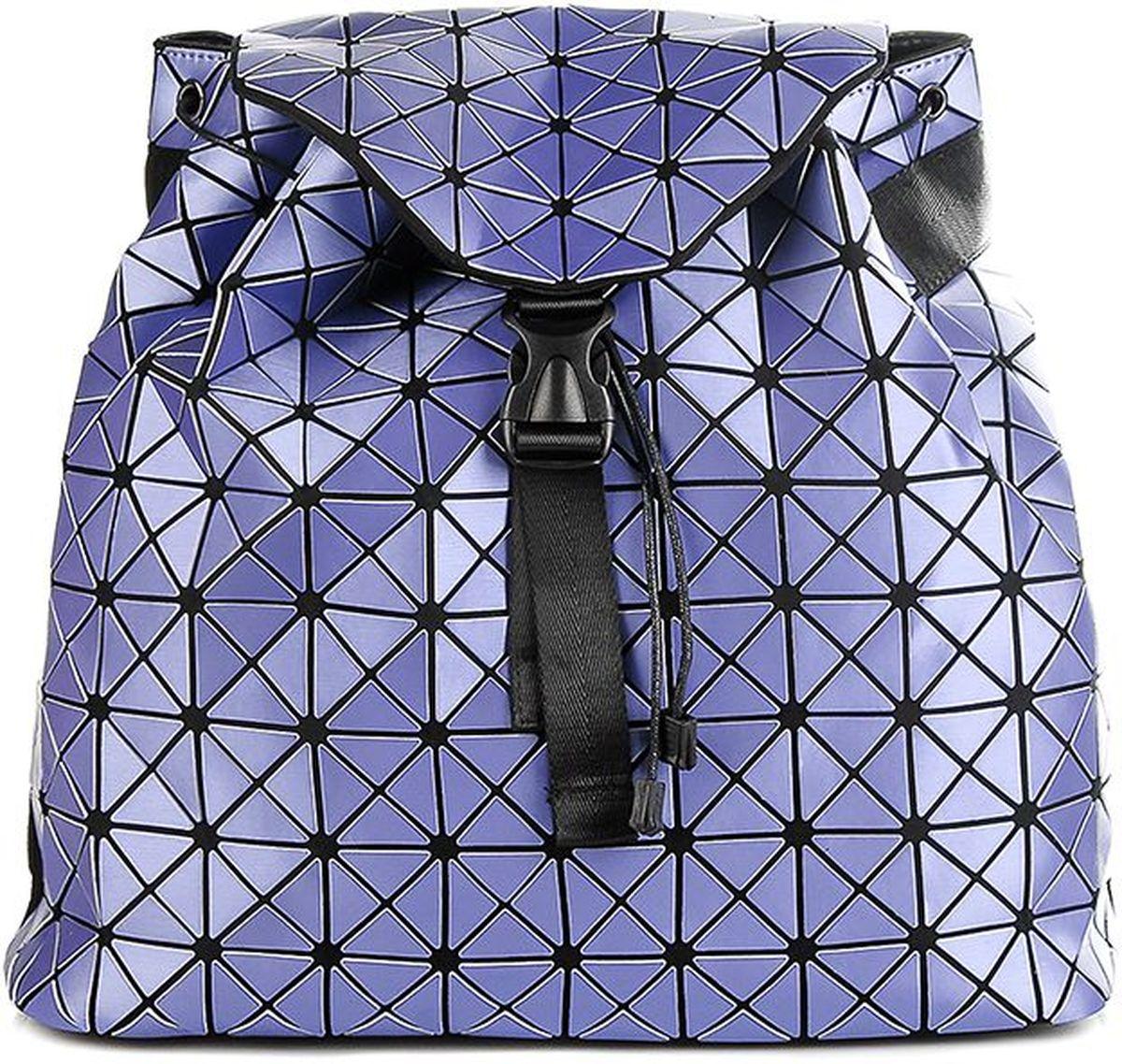 Рюкзак силиконовый Sabellino, цвет: фиолетовый. 0111016456_400111016456_40Легкий вместительный рюкзак, закрывается на крышку с застежкой, изделие затягивается, что позволит сделать его компактным или более вместительным. Внутри тканевый подклад, карман на молнии для документов, отделения для мелочи и мобильного телефона, уплотненное дно. Мягкие регулируемые лямки.