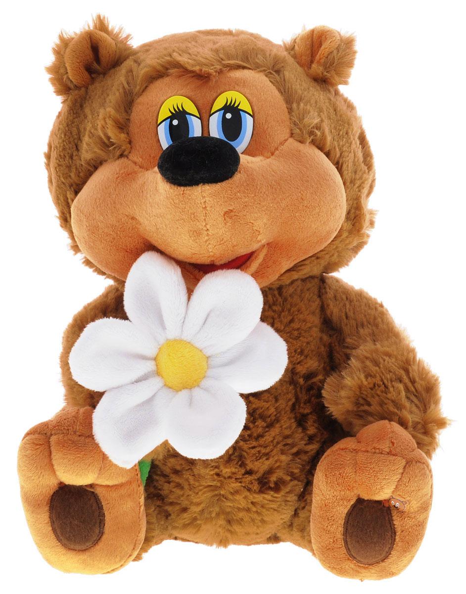 Мульти-Пульти Мягкая озвученная игрушка Медвежонок 25 смF8-W1566Мягкая озвученная игрушка Мульти-Пульти Медвежонок станет поистине незабываемым подарком для каждого ребенка. Мягкая игрушка ассоциируется с радостью и весельем. Забавная, добрая мягкая игрушка будет радовать малыша с самого рождения. Игрушка выполнена в виде очаровательного медвежонка из мультфильма Трям! Здравствуйте с ромашкой в руках. Нажав медвежонку на живот, вы услышите песню из этого мультфильма Облака, белогривые лошадки. Мягкие игрушки помогают познавать окружающий мир через тактильные ощущения, знакомят с животным миром нашей планеты, формируют цветовосприятие и способствуют концентрации внимания. Рекомендуется докупить 3 батарейки напряжением 1,5 V типа АG13/LR44 (товар комплектуется демонстрационными).