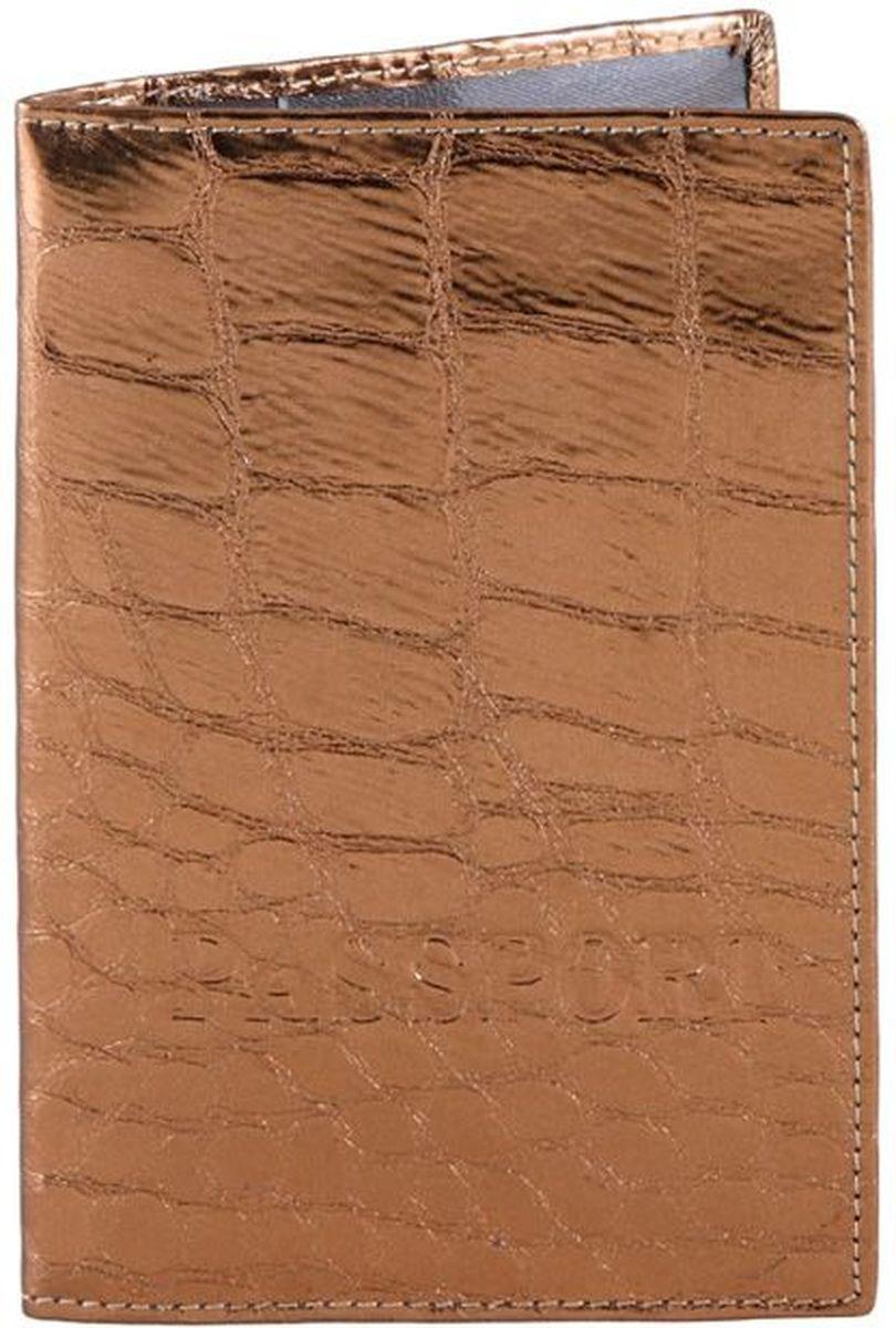 Обложка для паспорта Piero, цвет: карамель. 42ОЖ_90051_20_1309П_1442ОЖ_90051_20_1309П_14Модель выполнена из высококачественной гладкой натуральной кожи.