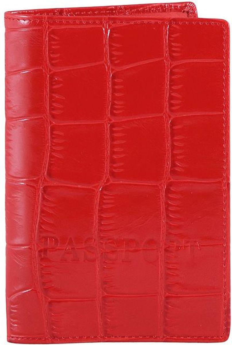 Обложка для паспорта Piero, цвет: рубиновый. 42ОЖ_90062_20_1309П_2242ОЖ_90062_20_1309П_22Модель выполнена из высококачественной гладкой натуральной кожи.