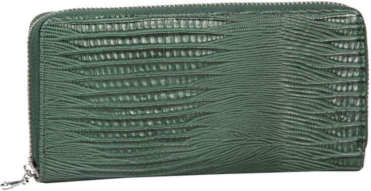 Портмоне женское Piero, цвет: темно-зеленый. 50ПЖМ_31_120950ПЖМ_31_1209Модель закрывается на молнию, внутри 4 отделения разделенные средником на молнии.