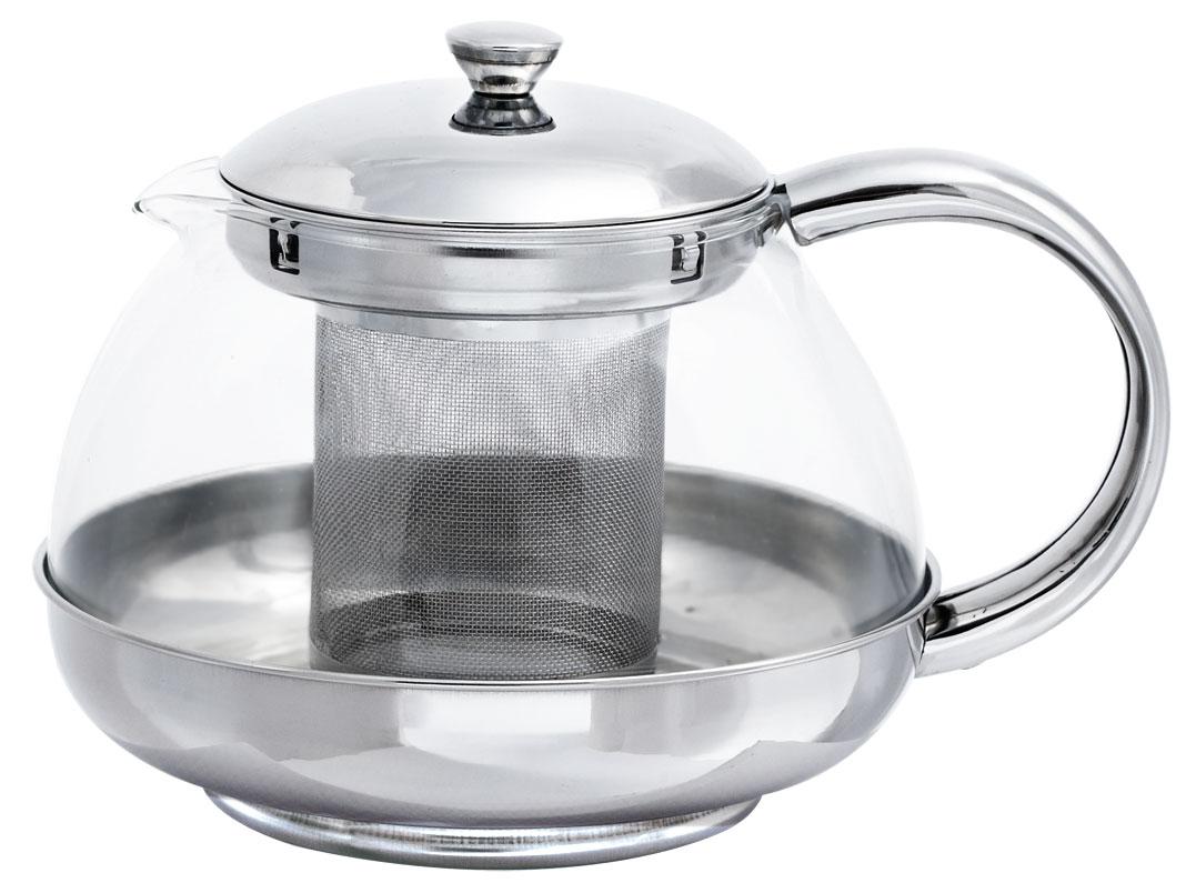 Чайник заварочный Bohmann, стеклянный, 1 л. 9631BH9631BHСтеклянный заварочный чайник с элементами из нержавеющей стали.Емкость 1,0л. Фильтр и крышка из хромоникелевой стали. Жаропрочное стекло. Можно мыть в посудомоечной машине. Дает возможность заварить насыщенный ароматный чай. Легкий и быстрый способ насладиться чашечкой горячего напитка.