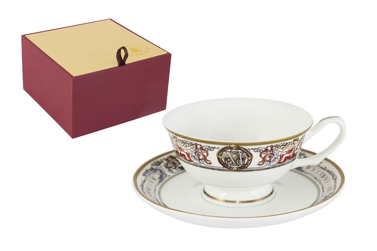 Чайная пара Emerald Мельпомена, 2 предметаE5-14-02/CS-ALЧайная пара Emerald Мельпомена состоит из чашки и блюдца, изготовленных из высококачественного костяного фарфора. Яркий дизайн изделий, несомненно, придется вам по вкусу. Чайная пара Emerald Мельпомена украсит ваш кухонный стол, а также станет замечательным подарком к любому празднику. Объем чашки: 200 мл.