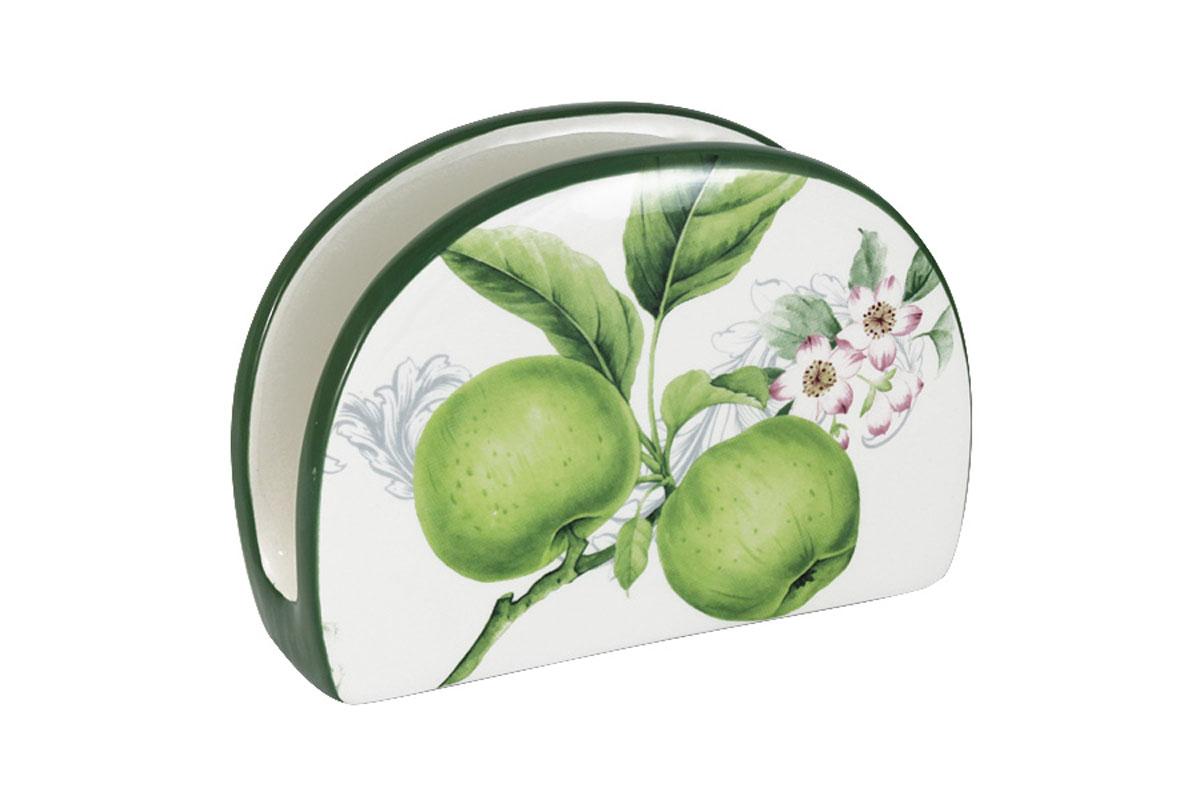 Салфетница Infinity Зеленые яблокиINFEX-A013-GA-ALВсе изделия находятся в подарочной упаковке, что позволяет им стать хорошим подарком. Для изготовления посуды Infinity используется высококачественная доломитовая керамика, отличительной особенностью которой являются легкость и белизна. Яркие декоры на такой керамике выглядят особенно привлекательно. Не рекомендуется использовать посуду Infinity в микроволновых печах для приготовления блюд, поскольку эта керамика не выдерживает температур выше 150С. Мыть - в теплой воде с применением мягких моющих средств. Не стоит часто использовать посудомоечную машину, поскольку при постоянном мытье в ней рисунок может потерять свою яркость.