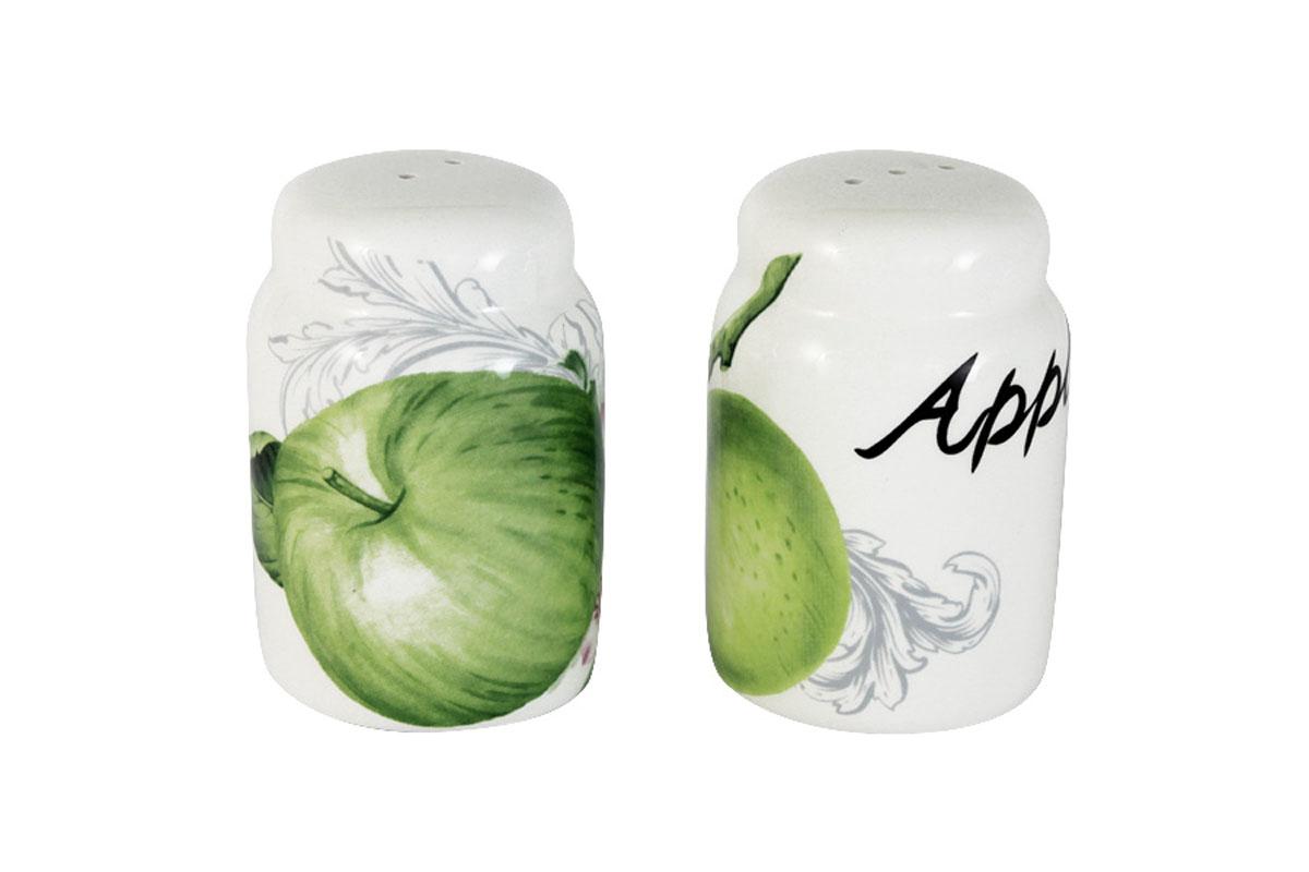 Набор для специй Infinity Зеленые яблокиINFEX-C011-GA-ALВсе изделия находятся в подарочной упаковке, что позволяет им стать хорошим подарком. Для изготовления посуды Infinity используется высококачественная доломитовая керамика, отличительной особенностью которой являются легкость и белизна. Яркие декоры на такой керамике выглядят особенно привлекательно. Не рекомендуется использовать посуду Infinity в микроволновых печах для приготовления блюд, поскольку эта керамика не выдерживает температур выше 150С. Мыть - в теплой воде с применением мягких моющих средств. Не стоит часто использовать посудомоечную машину, поскольку при постоянном мытье в ней рисунок может потерять свою яркость.