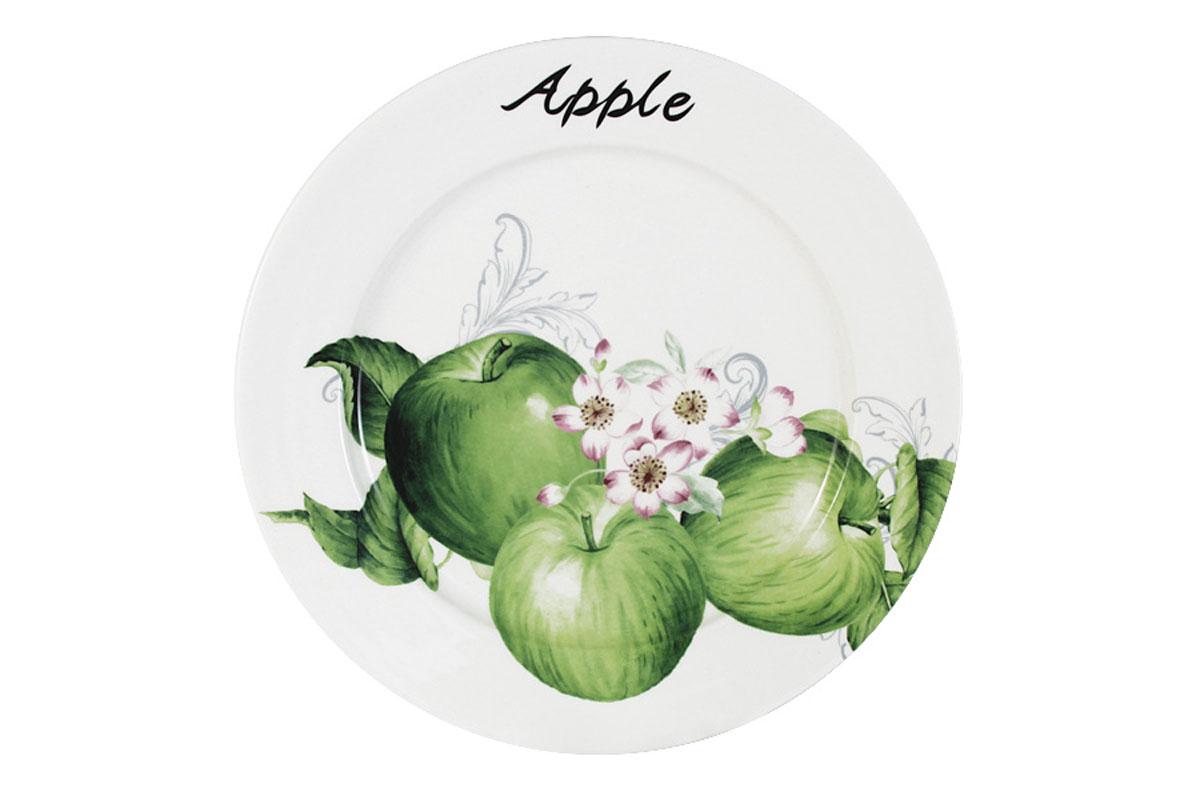 Тарелка обеденная Infinity Зеленые яблокиINFEX-C046-GA-ALВсе изделия находятся в подарочной упаковке, что позволяет им стать хорошим подарком. Для изготовления посуды Infinity используется высококачественная доломитовая керамика, отличительной особенностью которой являются легкость и белизна. Яркие декоры на такой керамике выглядят особенно привлекательно. Не рекомендуется использовать посуду Infinity в микроволновых печах для приготовления блюд, поскольку эта керамика не выдерживает температур выше 150С. Мыть - в теплой воде с применением мягких моющих средств. Не стоит часто использовать посудомоечную машину, поскольку при постоянном мытье в ней рисунок может потерять свою яркость.