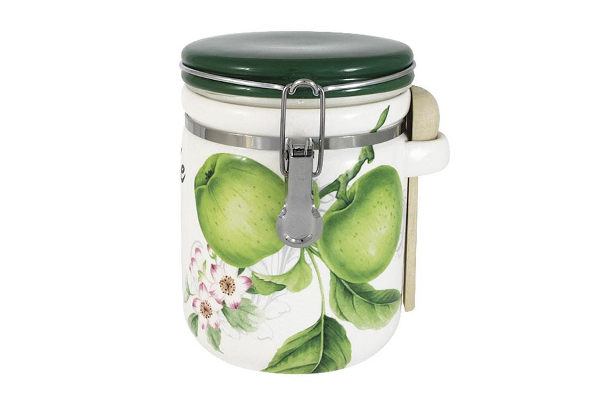 Банка для сыпучих продуктов Infinity Зеленые яблоки, большаяINFEX-C108-GA-ALВсе изделия находятся в подарочной упаковке, что позволяет им стать хорошим подарком. Для изготовления посуды Infinity используется высококачественная доломитовая керамика, отличительной особенностью которой являются легкость и белизна. Яркие декоры на такой керамике выглядят особенно привлекательно. Не рекомендуется использовать посуду Infinity в микроволновых печах для приготовления блюд, поскольку эта керамика не выдерживает температур выше 150С. Мыть - в теплой воде с применением мягких моющих средств. Не стоит часто использовать посудомоечную машину, поскольку при постоянном мытье в ней рисунок может потерять свою яркость.