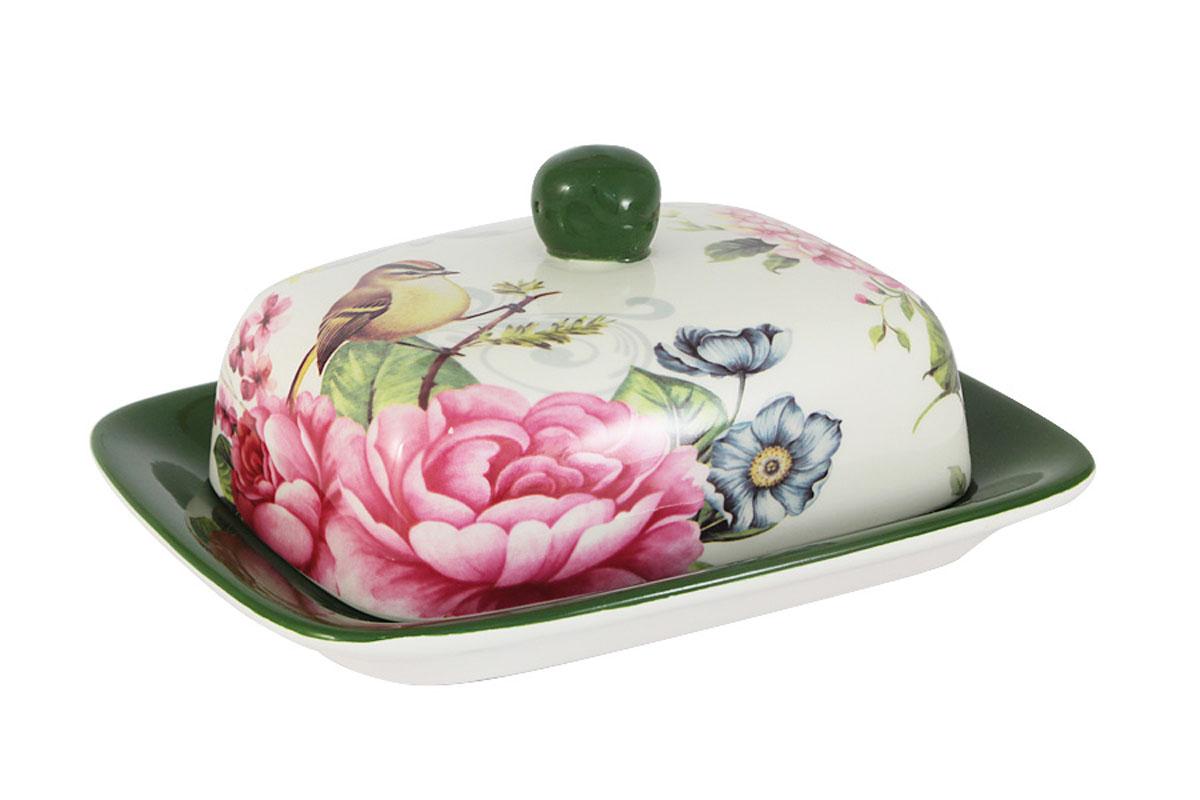 Масленка Infinity Цветы и птицыINFOH055G-FB-ALВсе изделия находятся в подарочной упаковке, что позволяет им стать хорошим подарком. Для изготовления посуды Infinity используется высококачественная доломитовая керамика, отличительной особенностью которой являются легкость и белизна. Яркие декоры на такой керамике выглядят особенно привлекательно. Не рекомендуется использовать посуду Infinity в микроволновых печах для приготовления блюд, поскольку эта керамика не выдерживает температур выше 150С. Мыть - в теплой воде с применением мягких моющих средств. Не стоит часто использовать посудомоечную машину, поскольку при постоянном мытье в ней рисунок может потерять свою яркость.