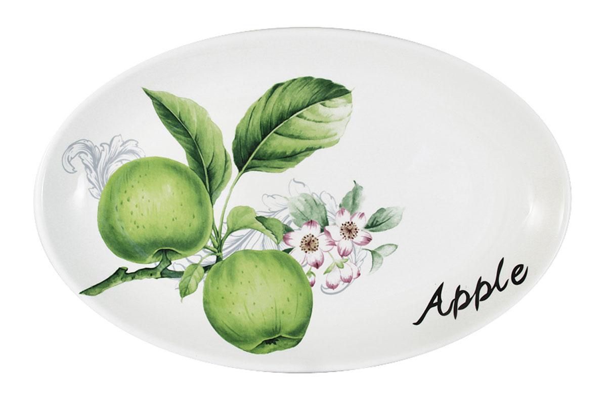 Блюдо овальное Infinity Зеленые яблокиINFOH072-GA-ALВсе изделия находятся в подарочной упаковке, что позволяет им стать хорошим подарком. Для изготовления посуды Infinity используется высококачественная доломитовая керамика, отличительной особенностью которой являются легкость и белизна. Яркие декоры на такой керамике выглядят особенно привлекательно. Не рекомендуется использовать посуду Infinity в микроволновых печах для приготовления блюд, поскольку эта керамика не выдерживает температур выше 150С. Мыть - в теплой воде с применением мягких моющих средств. Не стоит часто использовать посудомоечную машину, поскольку при постоянном мытье в ней рисунок может потерять свою яркость.