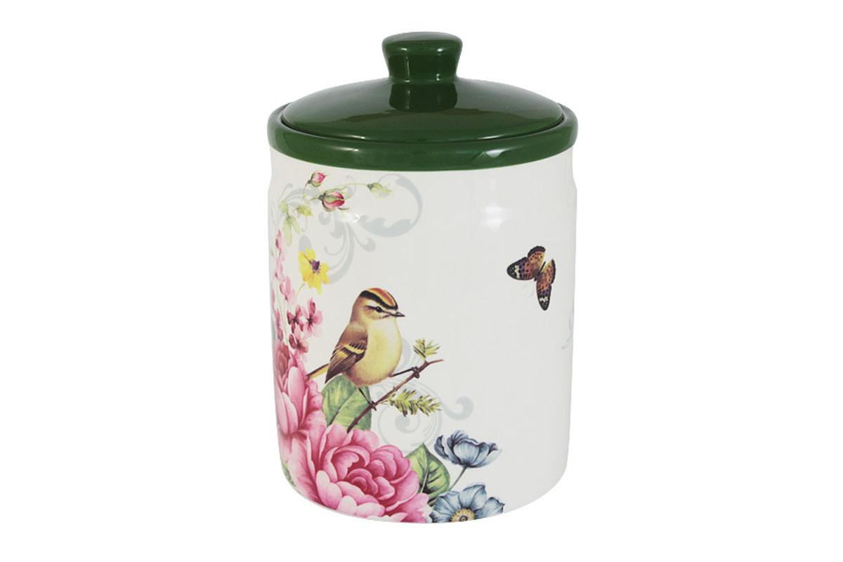 Банка для сыпучих продуктов Infinity Цветы и птицы, большаяINFOH1050-FB-ALВсе изделия находятся в подарочной упаковке, что позволяет им стать хорошим подарком. Для изготовления посуды Infinity используется высококачественная доломитовая керамика, отличительной особенностью которой являются легкость и белизна. Яркие декоры на такой керамике выглядят особенно привлекательно. Не рекомендуется использовать посуду Infinity в микроволновых печах для приготовления блюд, поскольку эта керамика не выдерживает температур выше 150С. Мыть - в теплой воде с применением мягких моющих средств. Не стоит часто использовать посудомоечную машину, поскольку при постоянном мытье в ней рисунок может потерять свою яркость.