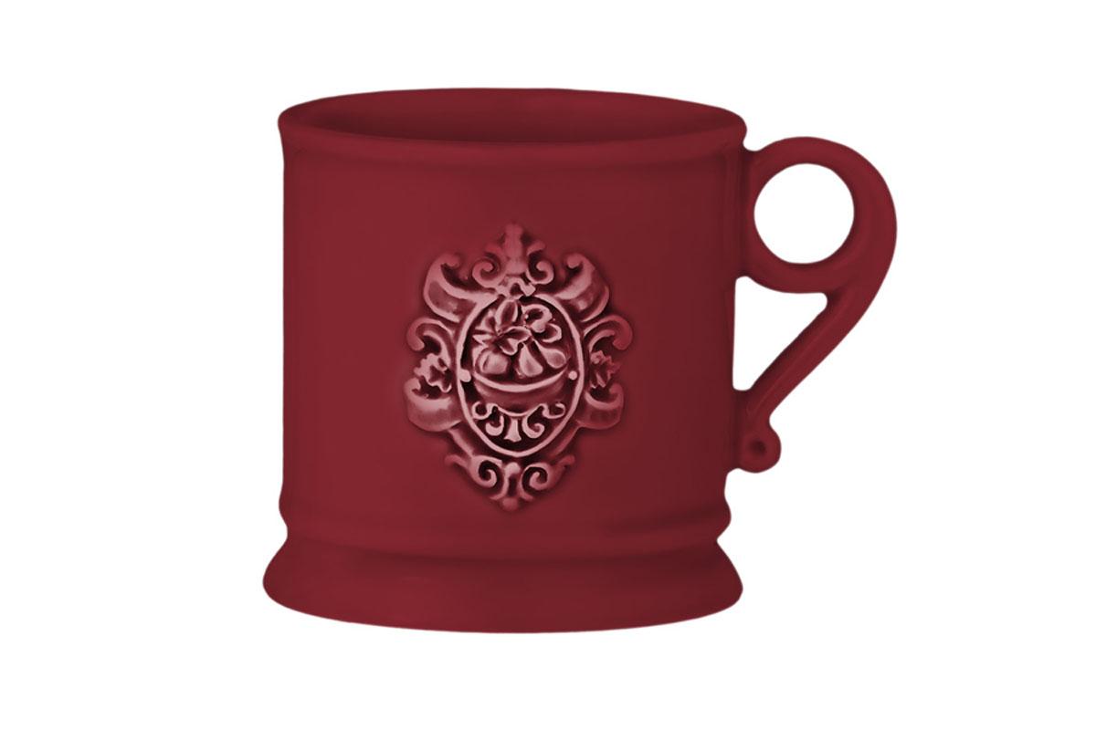 Кружка Nuova Cer Аральдо, цвет: бордовый