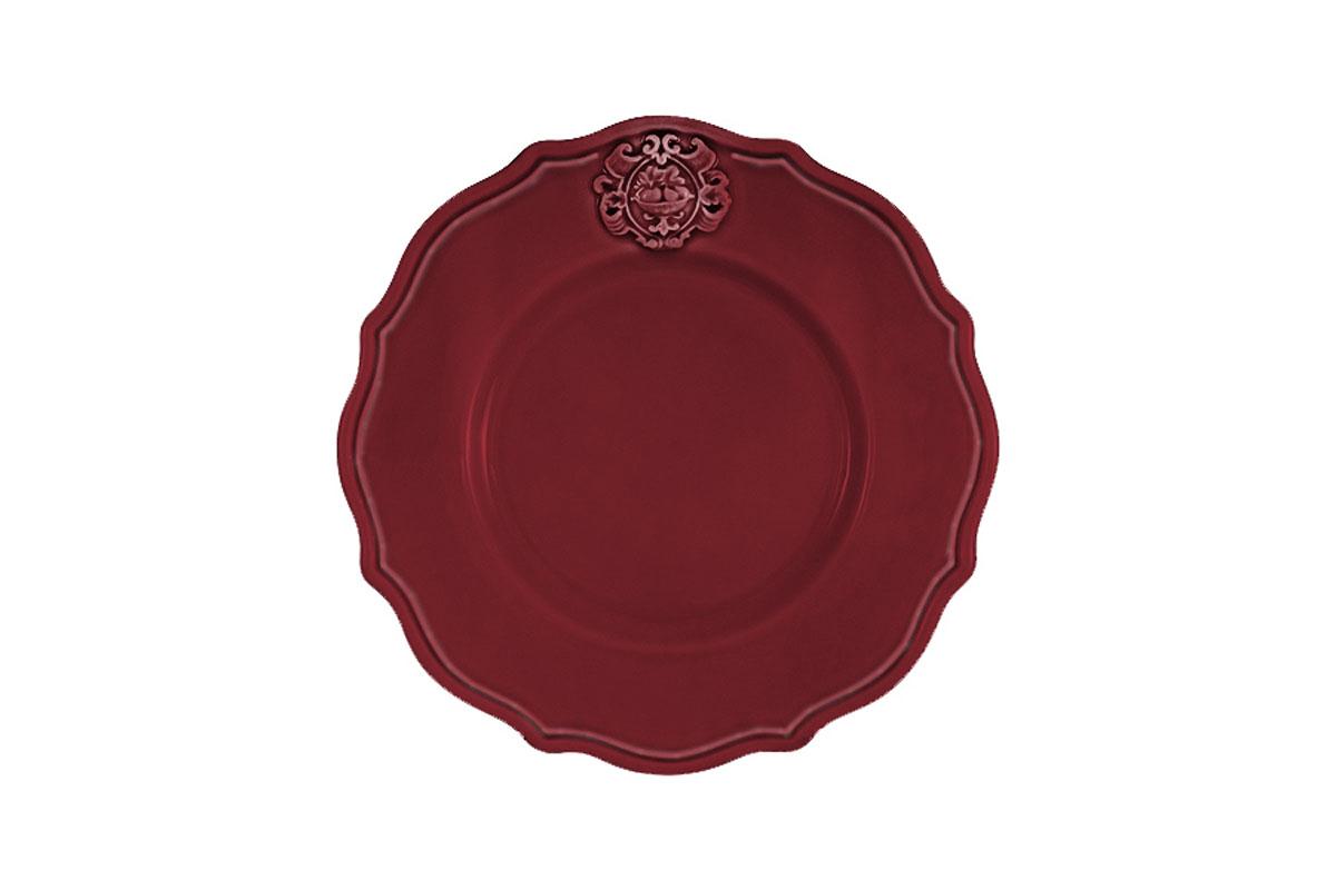 Тарелка закусочная Nuova Cer Аральдо, цвет: бордовыйNC8310/4-RNO-ALДекорам торговой марки Nuova Сer присущи тёплые оттенки и верность истинно итальянскому стилю, для которого характерным является довольно толстая, нарочито простая керамическая посуда с красочной, яркой глазурью, с наивной росписью и орнаментами. Ее с легкостью можно подобрать в тон интерьеру кухни. Состав:керамика.Мыть мягкими моющими средствами. Не рекомендуется использовать посуду в микроволновой печи и мыть в посудомоечной машине.