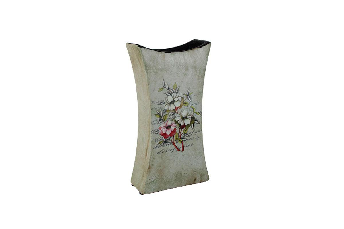 Ваза для цветов Sunrise Ceramics Магнолия, трапеция, малаяSR-18218-3C-ALИзготовленные по классической технологии обжига керамики с нанесением декоративных рисунков, вазы Sunrise Ceramics отличаются оригинальностью форм, размеров и дизайна. Умело подобранная керамическая ваза может оживить любой интерьер, стать полезной и по-настоящему памятной вещью. Состав:керамика. Изделия обязательной сертификации не подлежат.Мыть теплой водой с применением жидких мощих средств.