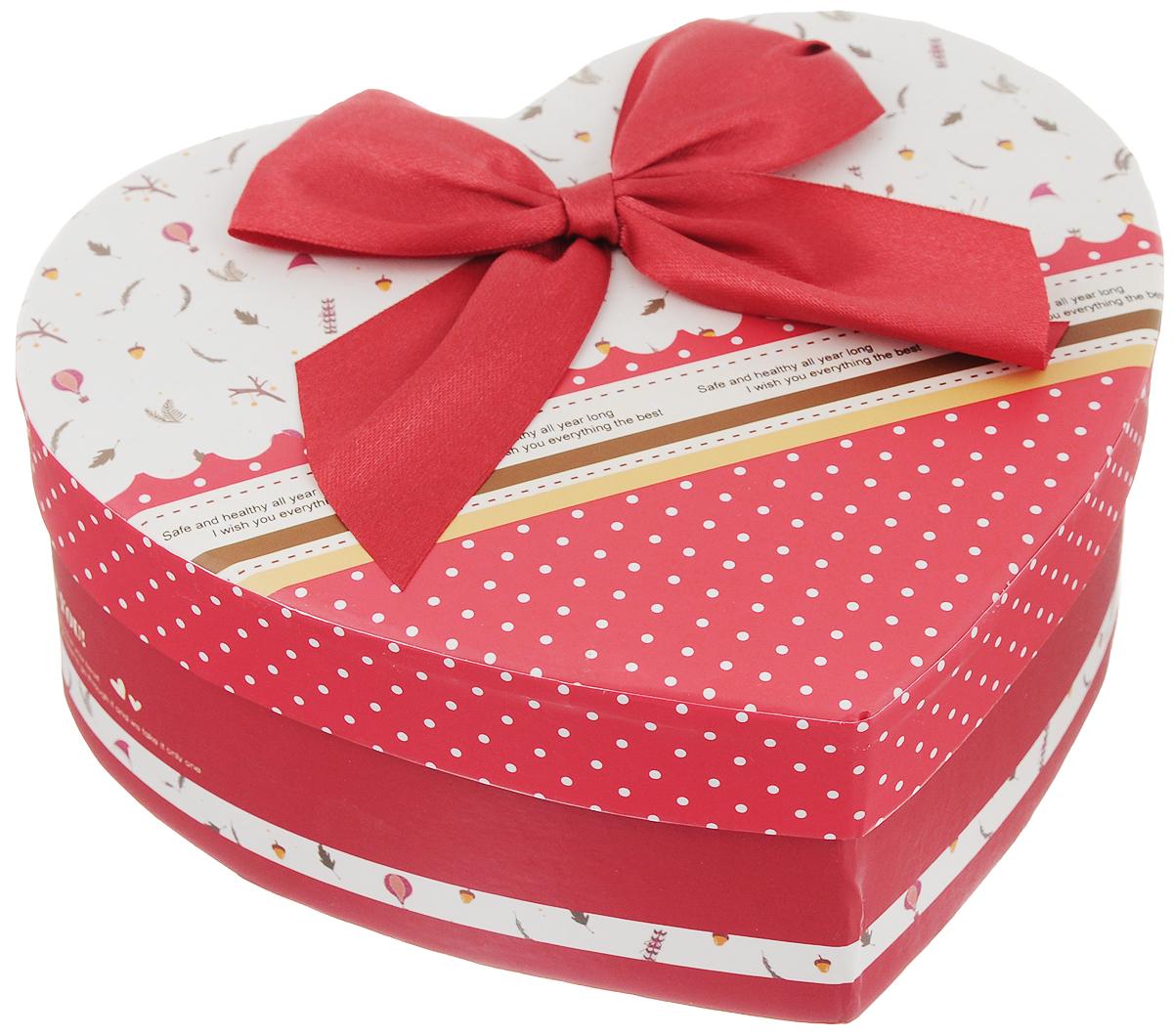 Коробка подарочная Packing Symphony Счастливой жизни, цвет: красный. 8003701780037017_красный
