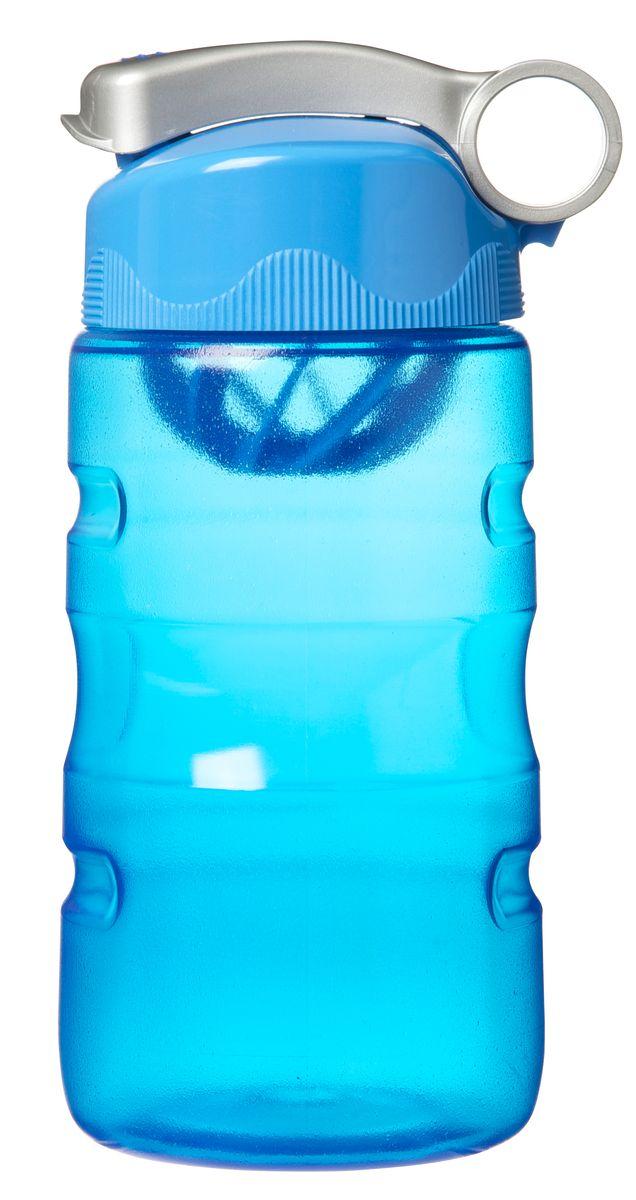 Бутылка питьевая Sistema, спортивная, цвет: голубой, 560 мл530_голубой
