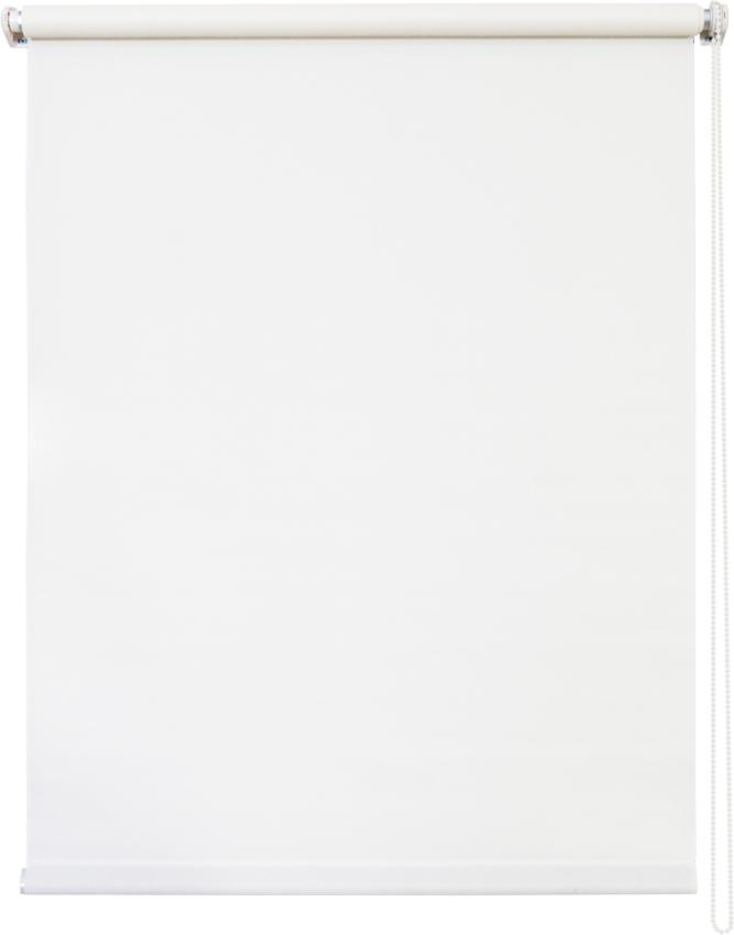 Штора рулонная Уют Плайн, цвет: белый, 90 х 175 см62.РШТО.7501.090х175• Защита от посторонних взглядов. • Фиксация в любом положении. • Крепеж: Универсальный (к потолку, к раме, к стене).
