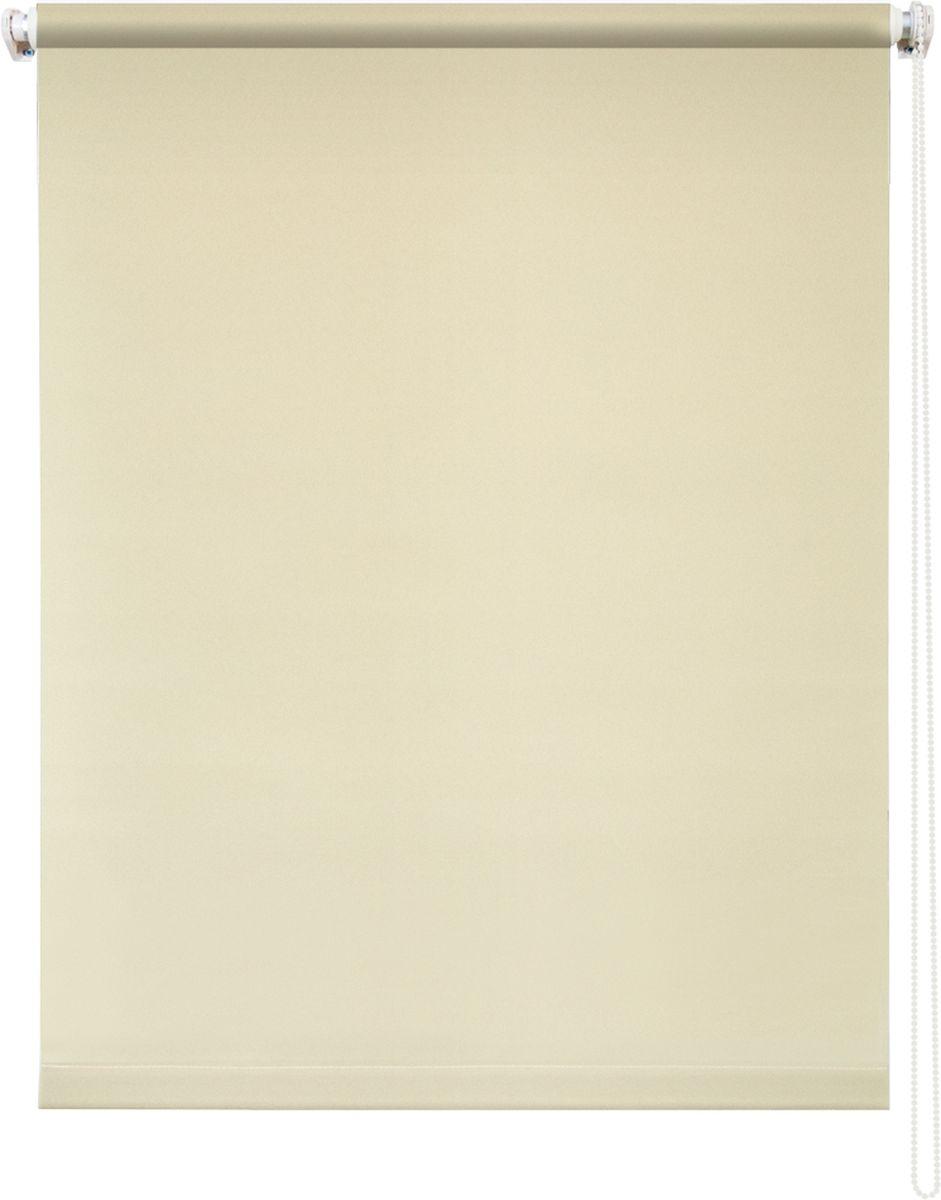 Штора рулонная Уют Плайн, цвет: сливочный, 80 х 175 см62.РШТО.7523.080х175• Защита от посторонних взглядов. • Фиксация в любом положении. • Крепеж: Универсальный (к потолку, к раме, к стене).