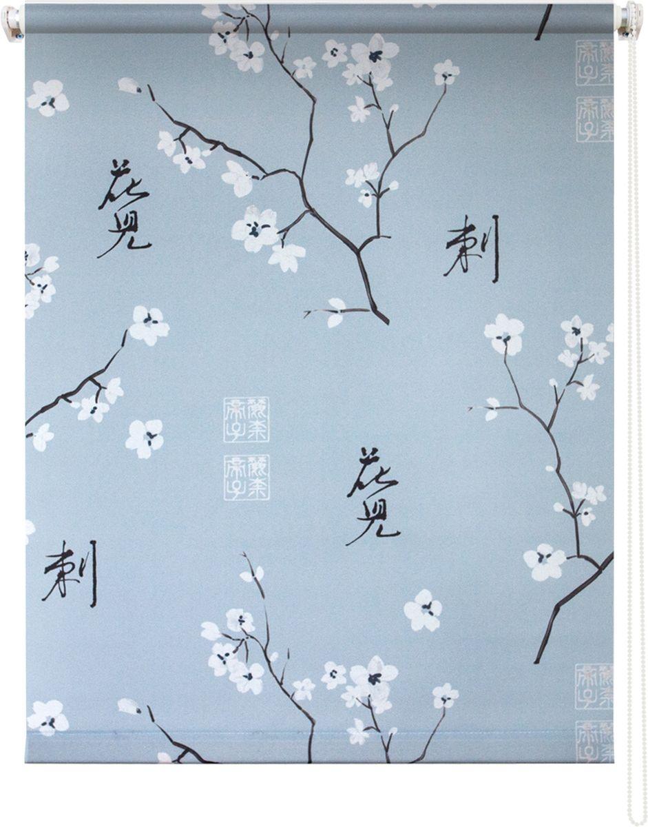 Штора рулонная Уют Япония, цвет: серый, 50 х 175 см62.РШТО.8913.050х175• Защита от посторонних взглядов. • Фиксация в любом положении. • Крепеж: Универсальный (к потолку, к раме, к стене).