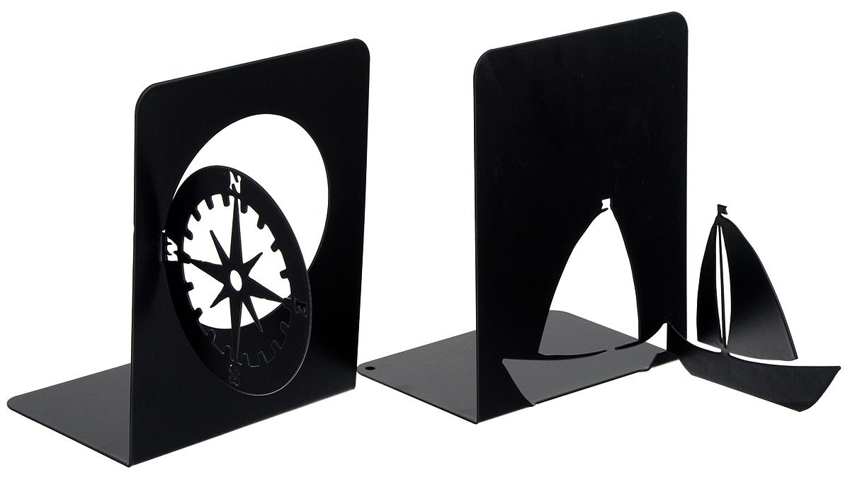 Подставка-ограничитель декоративная для книг Феникс-Презент Навигация, 2 шт40651Декоративная подставка-ограничитель Феникс- Презент Навигация, изготовленная из металла, состоит из двух частей, с помощью которых можно подпирать книги с двух сторон. Изделия оформлены декоративными фигурками в виде компаса и корабля, а также снабжены противоскользящими подложками из этиленвинилацетата. Между ограничителями можно поместить неограниченное количество книг. Подставка-ограничитель для книг Феникс-Презент Навигация - это не только подставка, но и интересный элемент декора, который ярко дополнит интерьер помещения. Размер подставок-ограничителей: 17 х 12 х 15 см; 17,5 х 12 х 15 см. Комплектация: 2 шт.