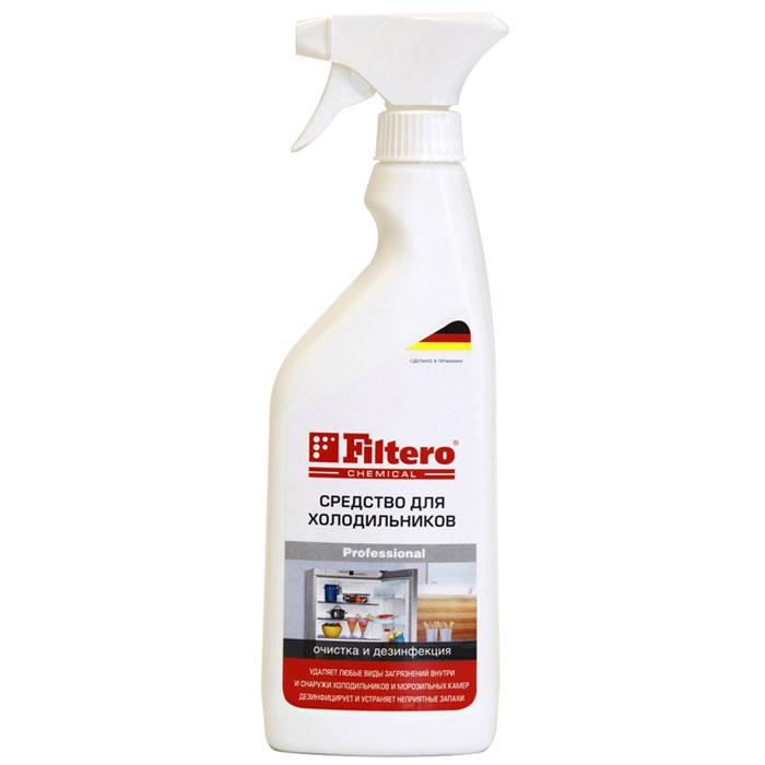 Filtero Средство для холодильников, 500 мл502Средство Filtero для ухода за холодильниками, морозильными камерами, холодильными сумками как внутри, так и снаружи. Продукты, хранящиеся в холодильнике, оставляют следы загрязнения, капли, влагу и запахи. Чтобы не навредить здоровью, необходимо постоянно поддерживать в холодильнике чистоту. Средство Filtero для холодильника быстро и эффективно удалит загрязнения и устранит бактерии.