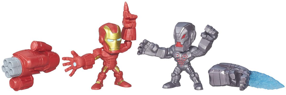 Hero Mashers Набор фигурок Iron Man vs UltronB6432_B6690_Iron Man vs UltronНабор сборных фигурок Hero Mashers Iron Man vs Ultron станет отличным подарком всем поклонникам комиксов. В комплекте 2 фигурки, оружие Железного Человека, дополнительная рука Альтрона. Даже самые сильные супергерои иногда нуждаются в дополнительной руке или ноге. Сделать это теперь возможно с новой линией фигурок Super Hero Mashers Micro. Несмотря на микроразмер, фигурки супергероев выглядят мощными, особенно с использованием сменных рук, ног и аксессуаров. Каждая фигурка включает в себя 3 точки для сменных элементов, что позволяет детям поменять супергерою голову и руки на те, которые они захотят! Универсальные разъемы позволяют использовать детали с любой другой фигурки героя Mashers, предоставляя свободу для создания нового супергероя! Дополнительно можно прикрепить боевое снаряжение и принадлежности для еще большей мощи!